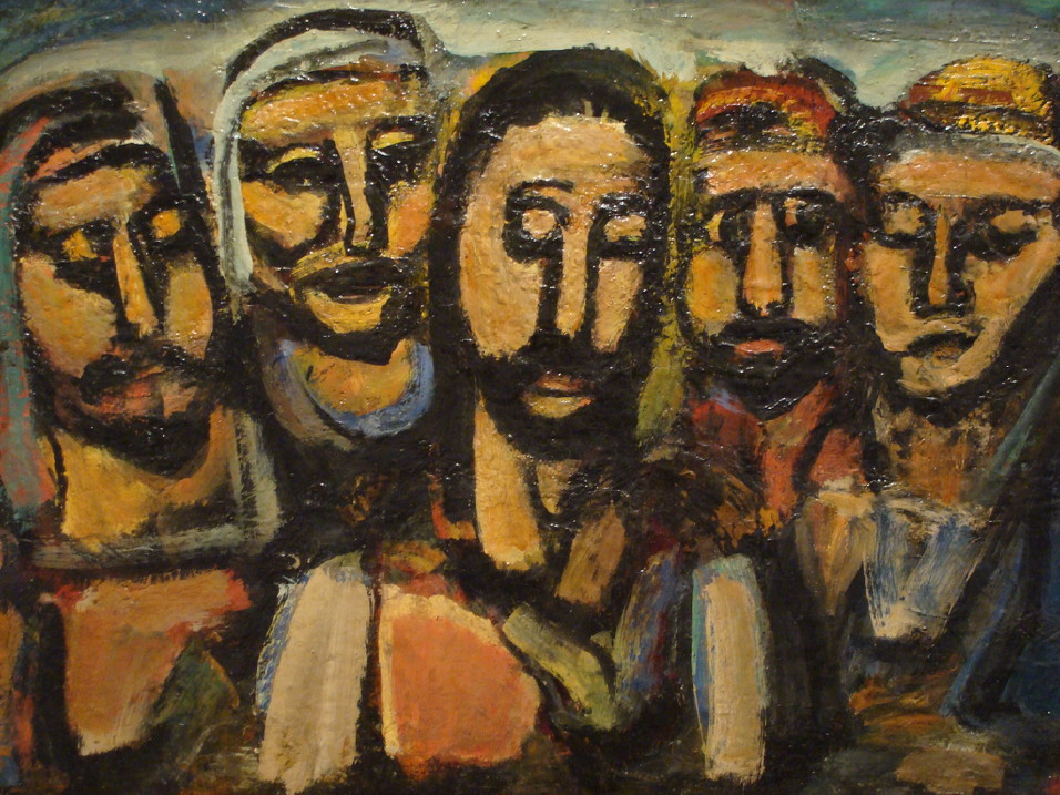 Rouault ChristAndApostles
